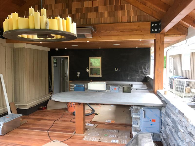 Outdoor Kitchen Spaces - Diamond Finish
