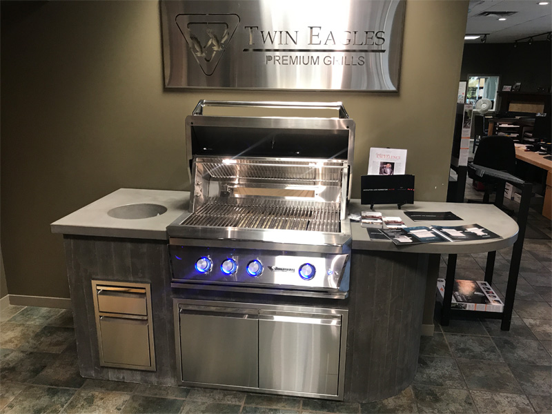 Showroom Cooking Space - Diamond Finish