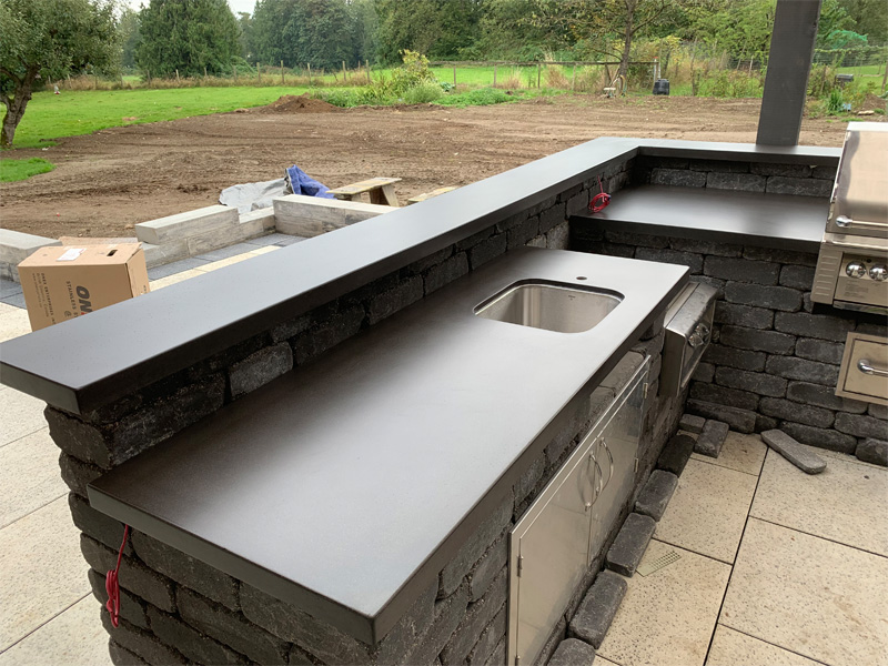 BBQ Cooking Space - Diamond Finish