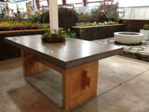 Concrete Tables - Diamond Finish Concrete Countertops