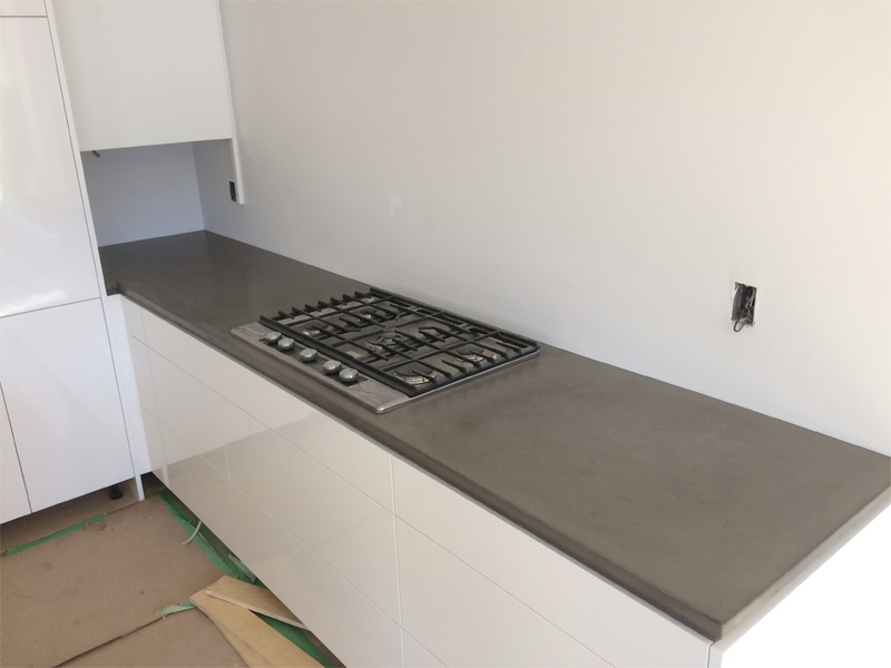 Counter with Stove Top - Diamond Finish