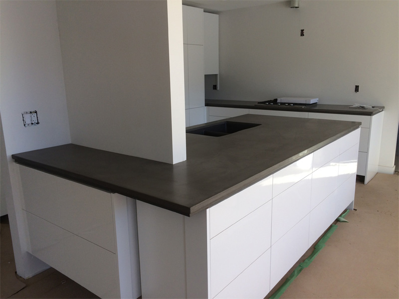Custom Design Kitchen Counters - Diamond Finish