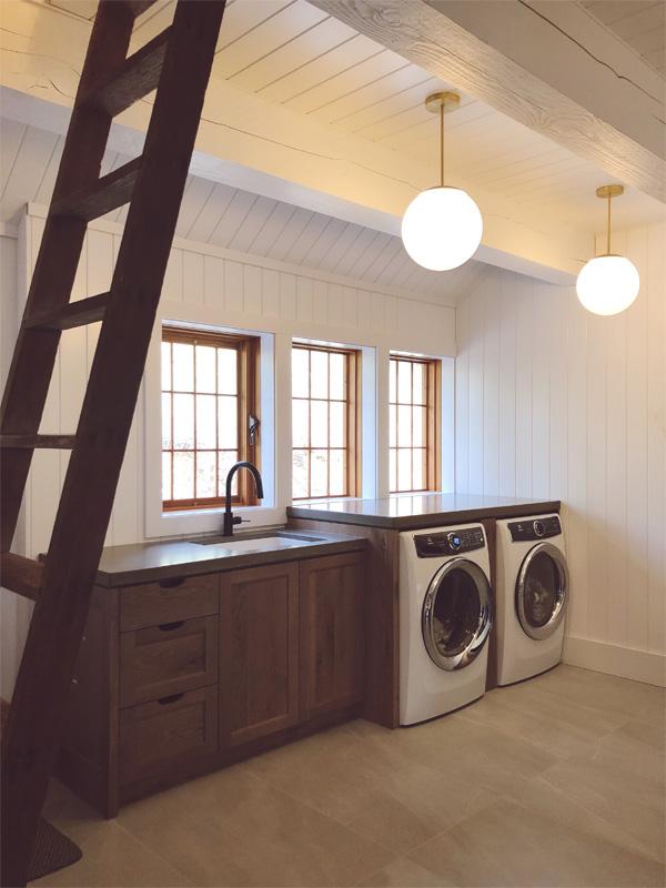 Laundry Room Countertops - Diamond Finish