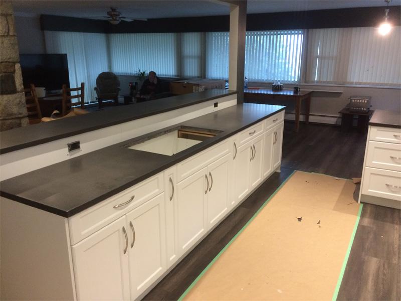 Modern Kitchen Counters - Diamond Finish