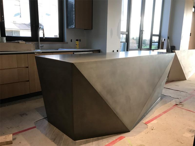 Unique Designs Counter Space - Diamond Finish