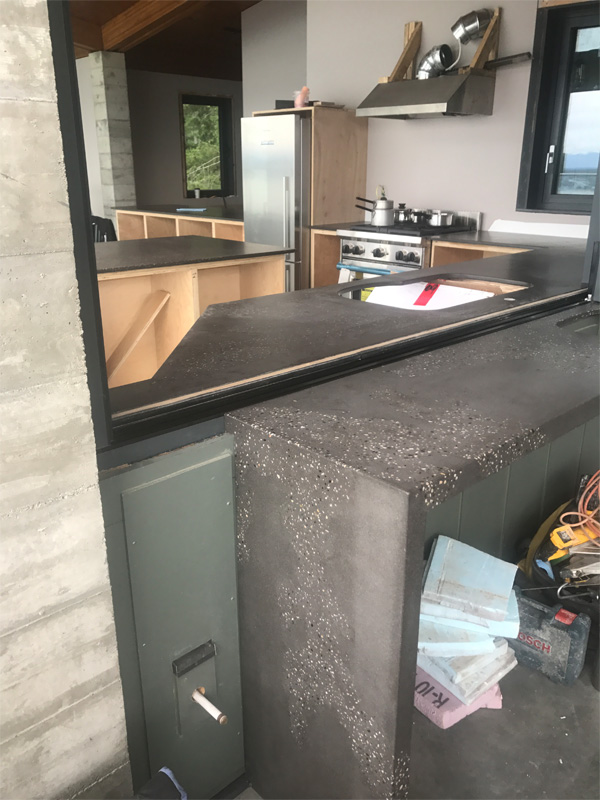 Countertops Custom Made - Diamond Finish