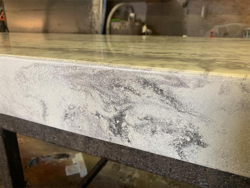 Countertops Custom Concrete - Diamond Finish