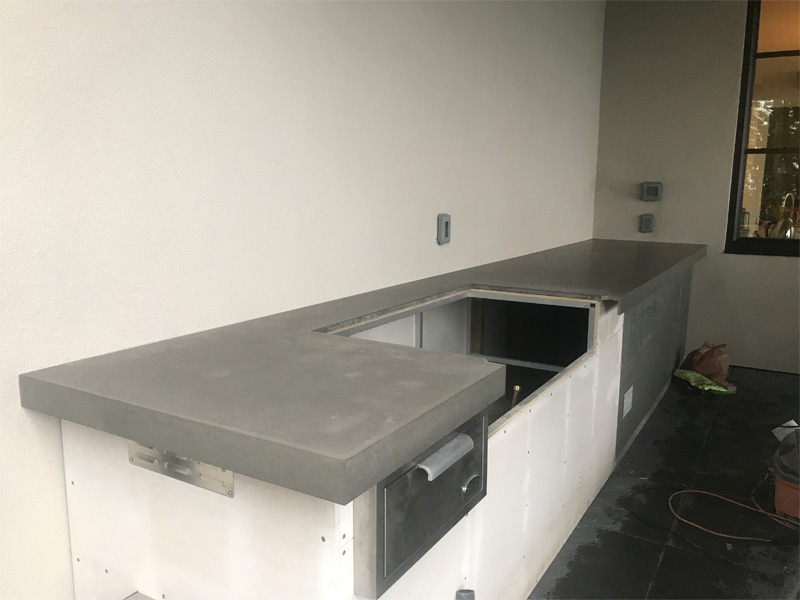 Custom Design Countertop - Diamond Finish