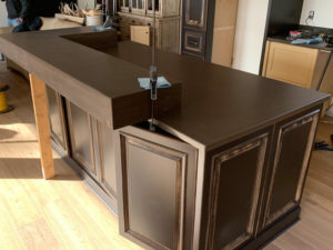 Concrete Countertops - Diamond Finish