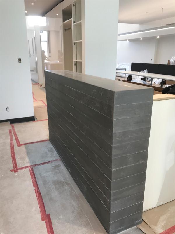 Concrete Walls Office Space - Diamond Finish