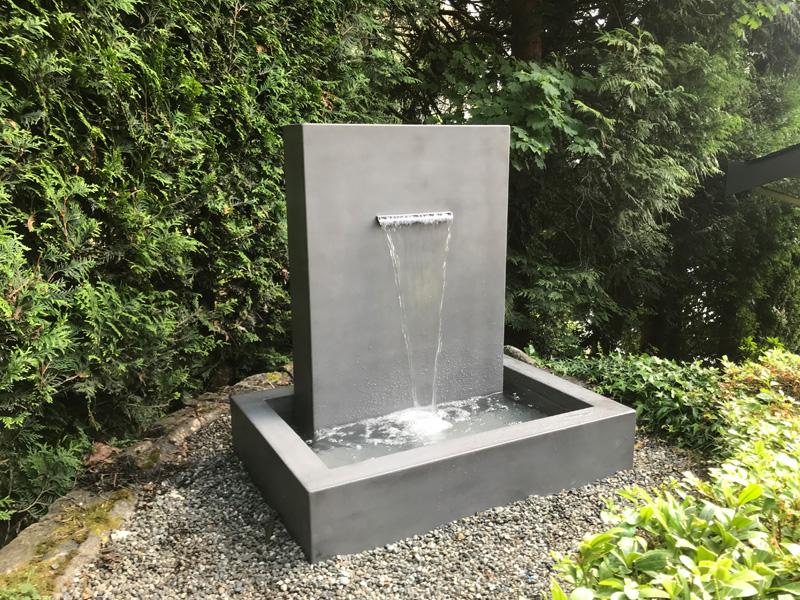 Water Fountains Concrete - Diamond Finish