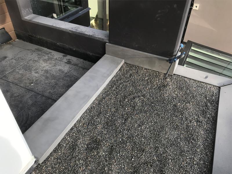 Concrete Outdoor Accents - Diamond Finish