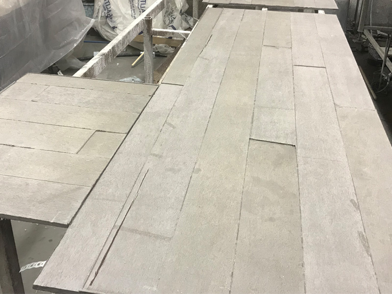 Custom Concrete Design - Diamond Finish