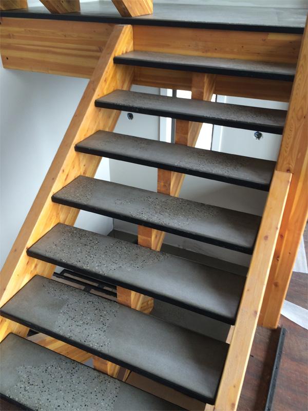 Concrete Stairs - Diamond Finish