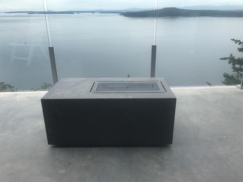 Deck Fire Table - Diamond Finish