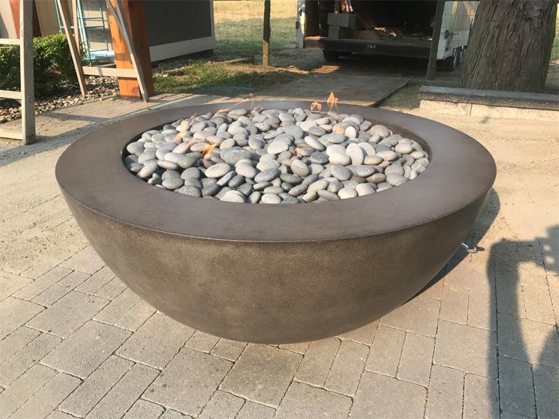 Patio Fire Pit - Diamond Finish